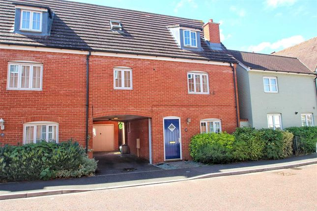 Thumbnail End terrace house for sale in Flavius Way, Myland, Colchester