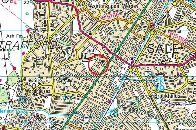 Town Plan of Fownhope Avenue, Sale M33
