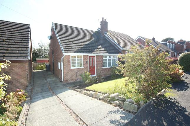 Thumbnail Semi-detached bungalow to rent in Hillside Close, Mow Cop, Stoke-On-Trent