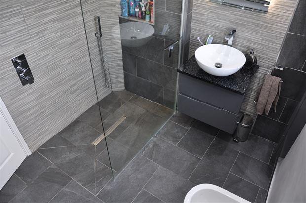 Bathroom of Ovington View, Prudhoe, Northumberland. NE42