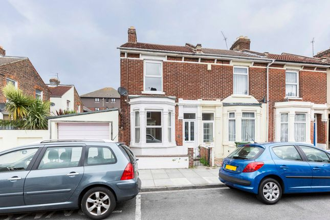 Thumbnail End terrace house to rent in Grayshott Road, Southsea