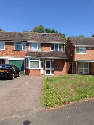 Thumbnail Semi-detached house to rent in Sheepcote Close, Leamington Spa