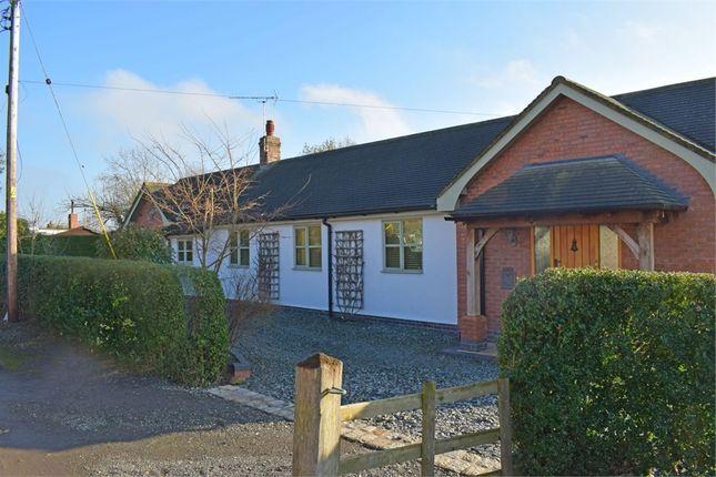 Thumbnail Detached bungalow for sale in Marsh Lane, Edleston, Nantwich, Cheshire