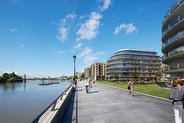 Thumbnail Flat for sale in Regatta Lane, Hammersmith