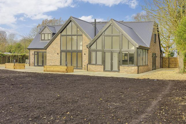 Thumbnail Detached house for sale in Fox Road, Bourn, Cambridge