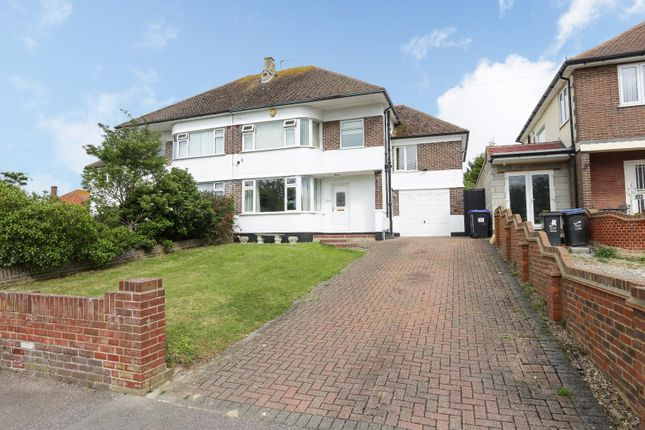 Thumbnail Semi-detached house for sale in Omer Avenue, Cliftonville, Margate