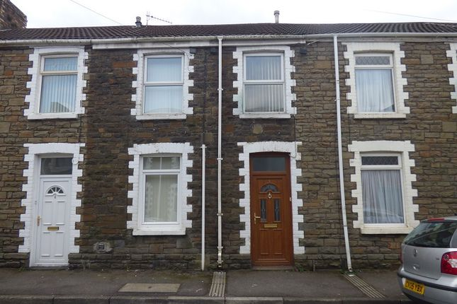 Thumbnail Terraced house to rent in Creswell Road, Neath, Neath Port Talbot.