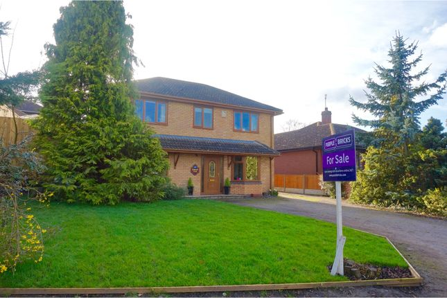 Thumbnail Detached house for sale in Riverside, Scotter, Gainsborough