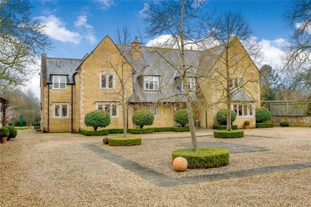 Thumbnail Detached house for sale in Church Street, Nassington, Peterborough