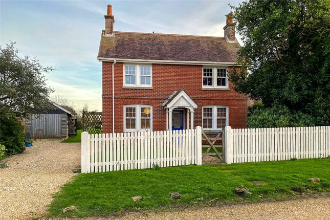 Thumbnail Detached house for sale in New Road, Keyhaven, Lymington, Hampshire