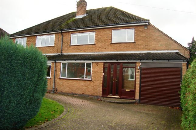 Thumbnail Semi-detached house to rent in Blackdown Road, Knowle, Solihull
