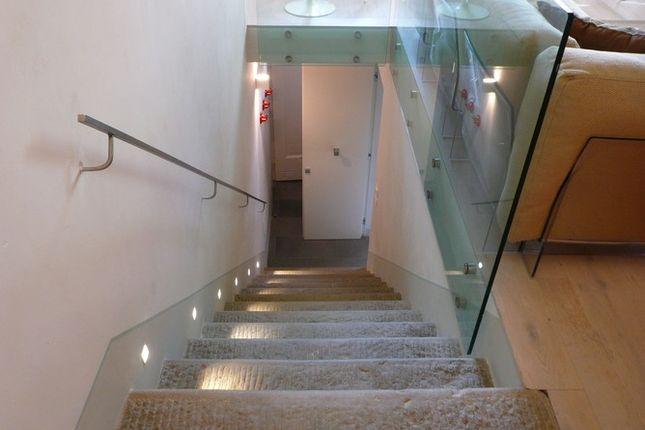 Stairs Down of Casa Antica, Cortona, Tuscany