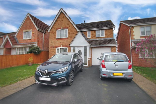 Thumbnail Detached house for sale in Siskin Crescent, Rogiet, Caldicot