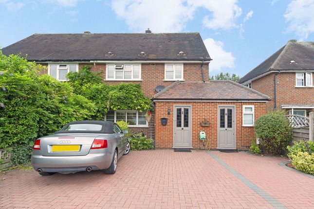 Thumbnail Semi-detached house for sale in Manor Road North, Thames Ditton