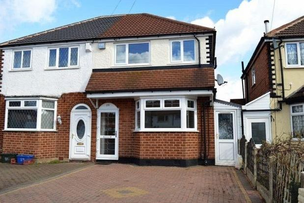Thumbnail Semi-detached house to rent in Dyas Road, Great Barr, Birmingham