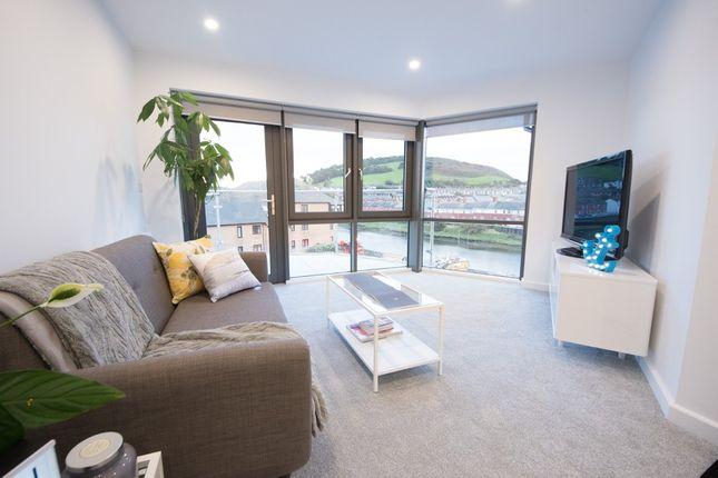 Thumbnail Flat for sale in Riverside Terrace, Aberystwyth