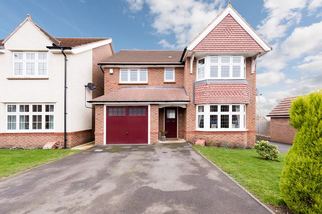Thumbnail Detached house for sale in Lister Drive, Rednal, Birmingham