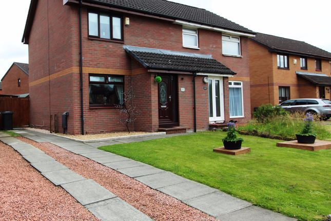 Thumbnail Semi-detached house for sale in Boden Quadrant, Motherwell