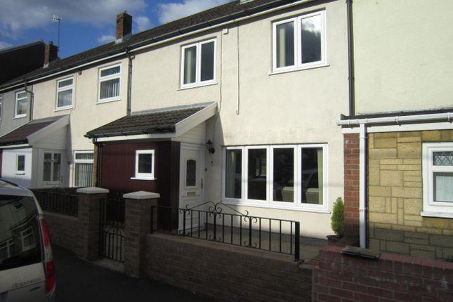 Thumbnail Terraced house for sale in John Street, Bargoed
