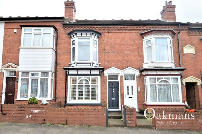 Thumbnail Terraced house for sale in King Edward Road, Birmingham, West Midlands.