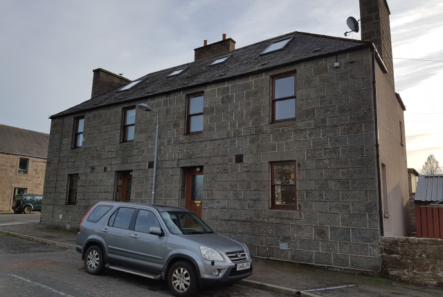 Thumbnail End terrace house to rent in The Square, Rhynie, Huntly