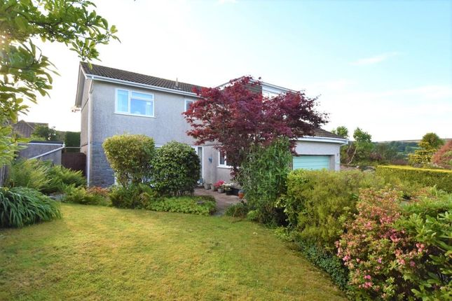 Thumbnail Detached house to rent in Well Lane, St. Cleer, Liskeard, Cornwall