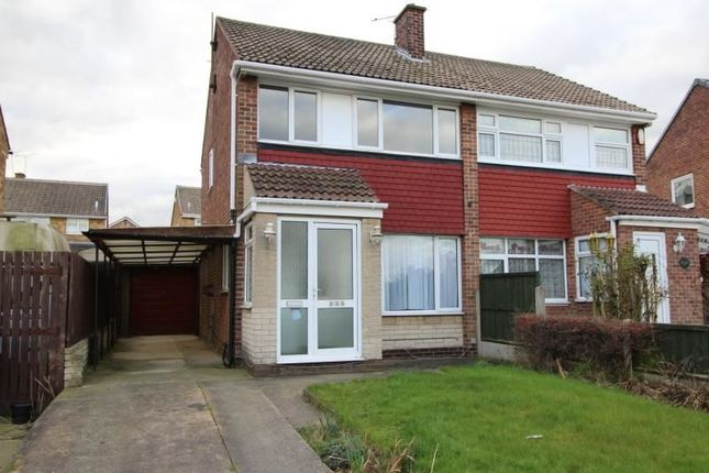 Thumbnail Semi-detached house to rent in Park Avenue, North Anston, Sheffield
