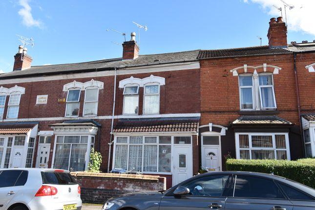 Thumbnail Terraced house for sale in Oakwood Road, Sparkhill, Birmingham