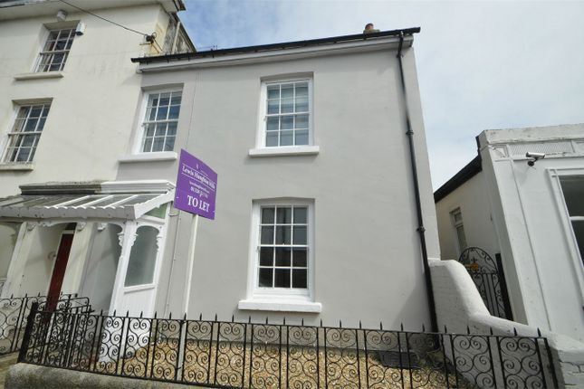 Thumbnail End terrace house to rent in West Street, Penryn