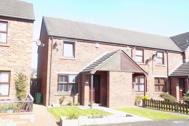 Thumbnail Semi-detached house for sale in Riverside Way, Carlisle