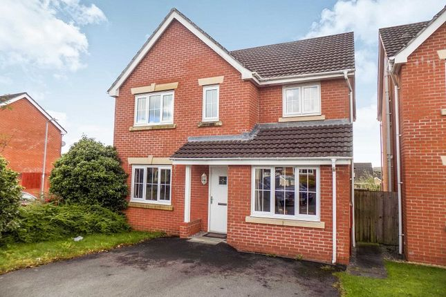 Thumbnail Detached house for sale in Crymlyn Parc, Skewen, Neath, Neath Port Talbot.