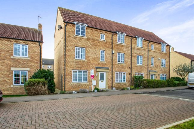 Thumbnail Town house for sale in Longchamp Drive, Ely