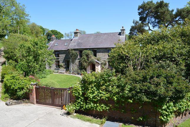 Thumbnail Farmhouse for sale in Penfedw, Brongest, Newcastle Emlyn, Ceredigion.