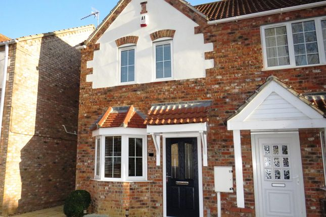 Thumbnail Semi-detached house to rent in Oatfield Way, Heckington, Sleaford