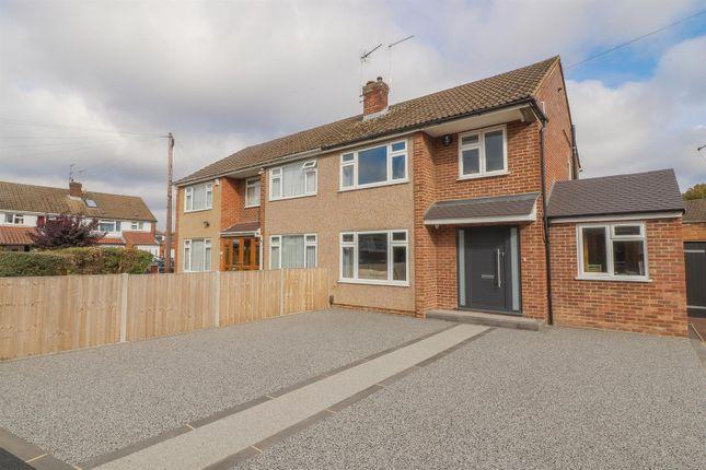 Thumbnail Semi-detached house for sale in Barnfield Close, Hoddesdon, Hoddesdon, Hertfordshire