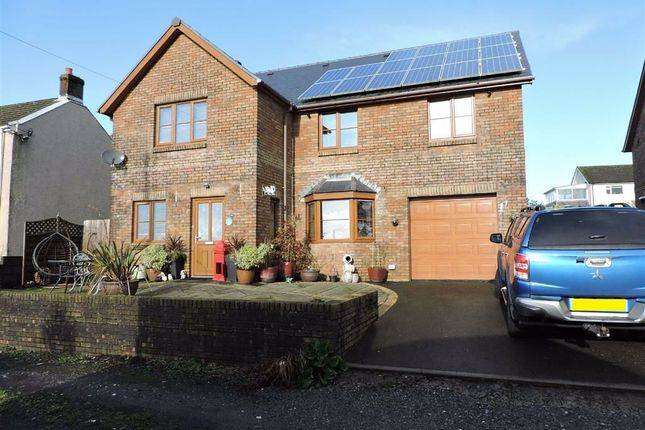 Thumbnail Detached house for sale in Station Road, Coelbren, Neath