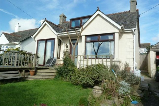 Thumbnail Detached bungalow for sale in Parka Road, St Columb Road, St Columb, Cornwall