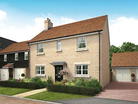 Thumbnail Detached house for sale in Biggleswade, Bedfordshire