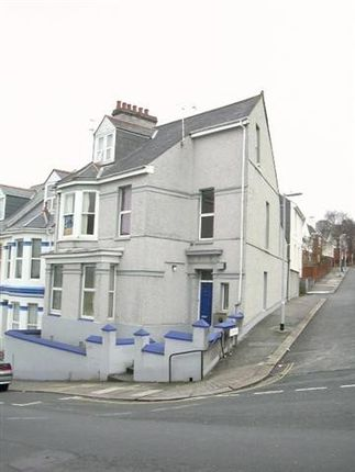 Thumbnail Town house to rent in Prince Maurice Road, Mutley, Plymouth