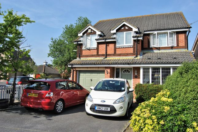 Thumbnail Detached house for sale in Wainwright Gardens, Hedge End