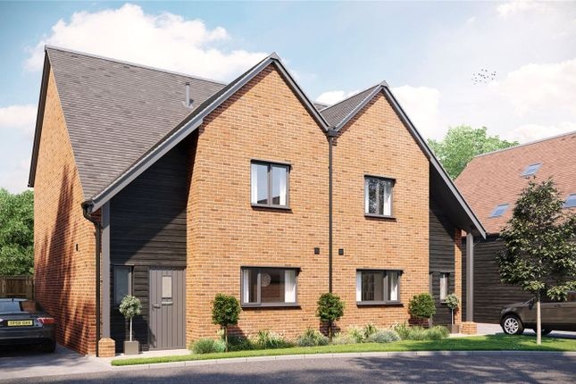 Thumbnail Semi-detached house for sale in Station Drive, Sutton Scotney, Winchester, Hampshire