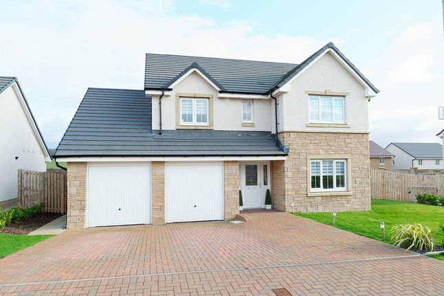 Thumbnail Detached house for sale in Peacock Meadow, Barrassie, Troon, South Ayrshire
