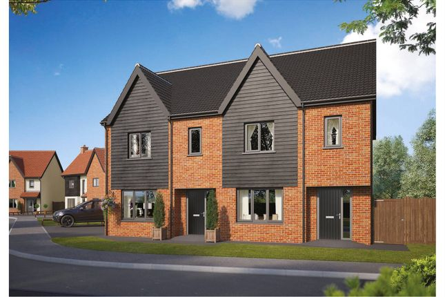 Thumbnail End terrace house for sale in Plot 61 Wendover Park, Salhouse Road, Norwich