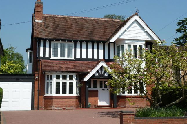 Thumbnail Detached house to rent in Widney Road, Bentley Heath, Solihull