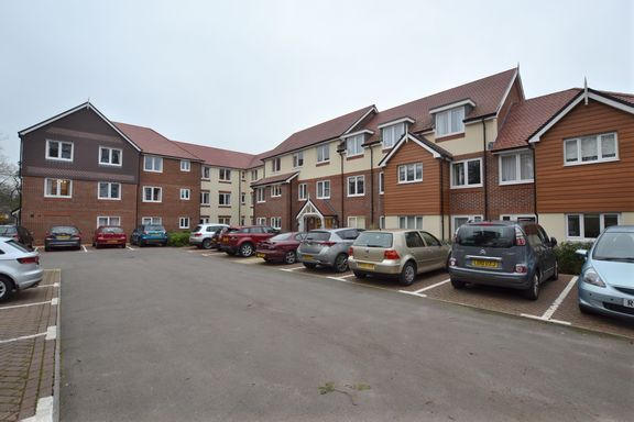 Thumbnail Property for sale in Church Court, Branksomewood Road, Fleet