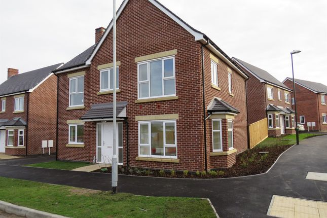 Thumbnail Detached house for sale in Burton Road, Castle Gresley, Swadlincote