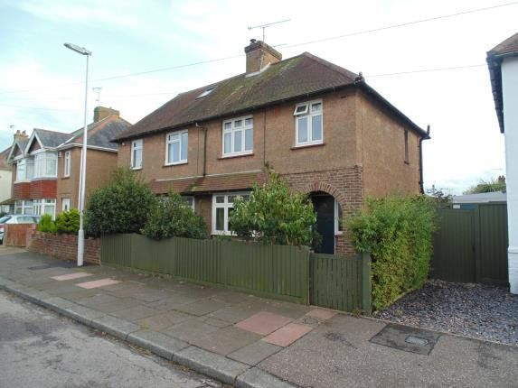 Thumbnail Semi-detached house for sale in Mardale Road, Worthing, West Sussex