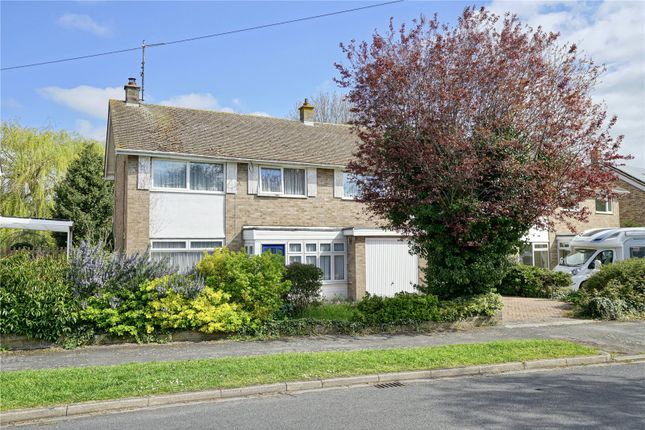 Thumbnail Detached house for sale in Field Cottage Road, Eaton Socon, St. Neots, Cambridgeshire