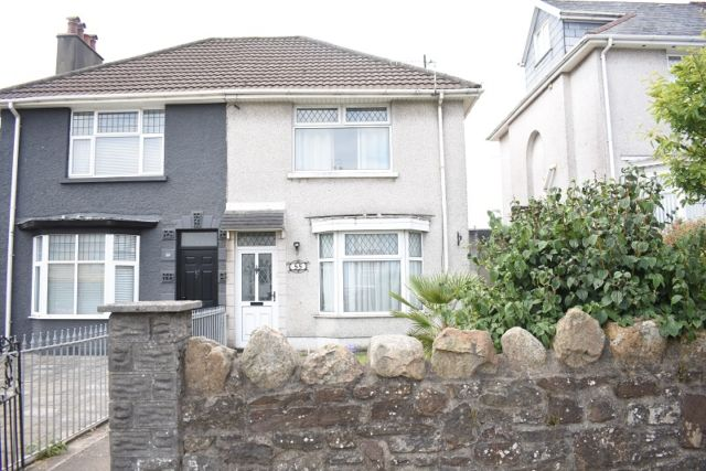 Thumbnail Semi-detached house to rent in Tycoch Road, Sketty, Swansea