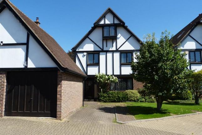 Thumbnail Detached house for sale in Aragon Close, Enfield